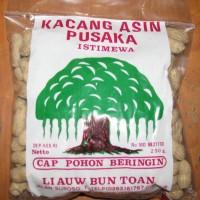 Kacang Asin Pusaka Cap Pohon Beringin 1/4 Kg