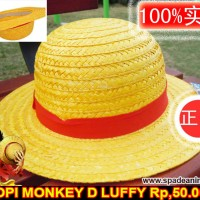 topi mugiwara no luffy,topi jerami luffy,anime one piece,hat (spade)