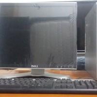PAKET LENGKAP HP7800 MINI SLIM + LCD MONITOR HP KOTAK 19