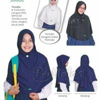 harga Jilbab Putih Polos Anak Sekolah Menengah Sd Sma Tokopedia.com
