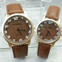 jam tangan fossil couple-harga sepasang(rolex guess puma casio