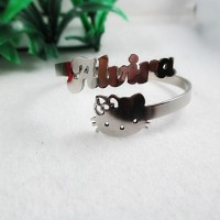 harga Gelang Nama Hello Kitty Anak Monel Asli, Bisa Pesan Nama Tokopedia.com