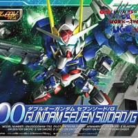 No-Grade Super Deformed 00 Gundam Seven Sword/G