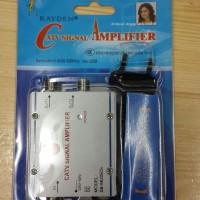 Spliter + Booster antena TV 1 antena 2 TV