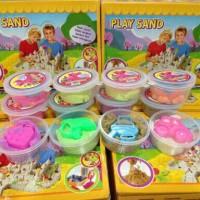 Mainan Edukatif / Edukasi Anak - Kinetic Play Sand / Main Pasir Ajaib