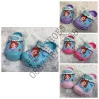 Sandal Anak Crocs Sofia the First Original (GROSIR dan ECERAN)
