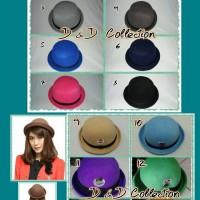 Jual Topi Wanita | Topi Pria | Topi Bowler | Topi Caplin | Fedora dewasa Murah