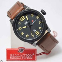 Reddington Jam Tangan Pria Tali Kulit R 8033 Cokelat Kuning Daftar Source · Spek Dan Harga