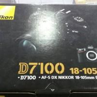Nikon D7100 Kit 18-105mm VR Lengkap