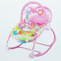 PLIKO - BABY BOUNCER ROCKING CHAIR HAMMOCK PINK