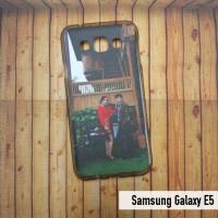 Samsung Galaxy E5 Case Custom - Softcase Skin Custom Gambar / Foto