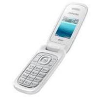 Handphone Samsung Flip Sliming E1272 Dual Sim-murah-White