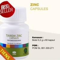 Vitamin Penambah Nafsu Makan dan Pertumbuhan Anak Zinc Tiens Tianshi