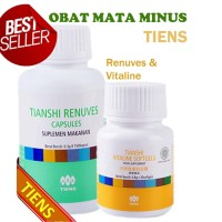 harga Obat Herbal Mata Minus Silinder Silindris Plus Tiens Vitaline Renuves Tokopedia.com