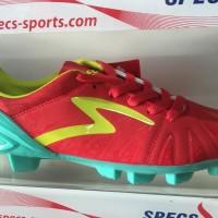 Sepatu bola specs tomahawk fg red slime 2016 new model original 100%