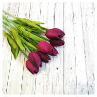 harga Hiasn Bunga Tulip Dekorasi Ungu Tokopedia.com