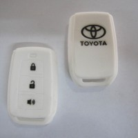 Silicone Cover Remote Toyota All New Avanza White