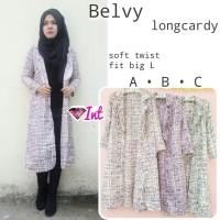 supplier hijab : belvy longcardy ori int