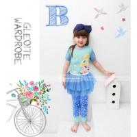 Piyama Tutu Dress GW-123 B: Cinderella (2-7 Tahun)