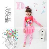 Piyama Tutu Dress GW-123 D: Princess (2-7 Tahun)