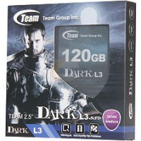 """SSD Team Dark L3 120GB 2.5"""" SATA III"""
