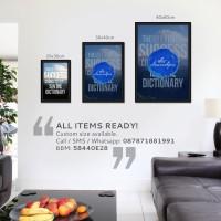 harga Poster Motivasi Handlettering #70 [20x30cm] Tokopedia.com