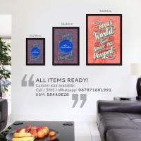 harga Poster Motivasi Handlettering #80 [40x60cm] Tokopedia.com