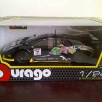 harga promo diecast miniatur mobil bburago race lamborghini murcielago