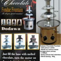 Dodawa Chocolate Fountain Single/penghancur coklat/Fondue Fountain