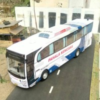 harga Miniatur Bus Pahala Kencana Tokopedia.com