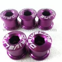 Driveline Crank Bolt Track Purple