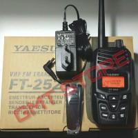 Jual Radio HT MURAH BERGARANSI YAESU FT-252 / FT 252 / FT252 IPX5