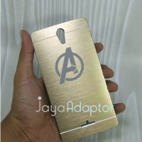 Case Metal Carakter Oppo Mirror 3 Avengers Gold