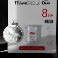 harga team flashdisk C151 8GB ukuran sekecil uang koin Tokopedia.com