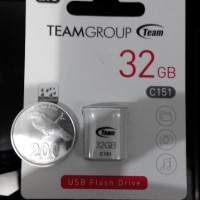 harga team flashdisk C151 32GB ukuran sekecil uang koin Tokopedia.com