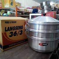 Dandang / Langseng / Steamer Aluminium 36/3 Jawa Maspion