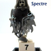 Lego 71010-7 : Spectre (Minifigures Series 14)