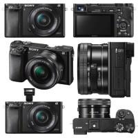 harga Kamera Sony Alpha 6000 L + Lensa SEL 16-50 ; Mirrorless ILCE-6000L Tokopedia.com