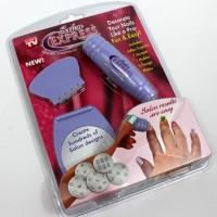 Salon Express Nail art Stamping Kit - Stamp Cat Kuku