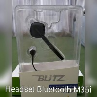 headset bluetooth M35i semua handphone bagus merk blitz