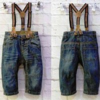 BABY GO Suspender Jeans