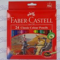 FABER CASTELL 24 CLASSIC COLOUR PENCILS