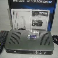 Set Top Box TV Digital DVB-T2 Merk PF Model 209