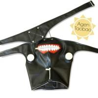 Jual Masker Wajah Topeng Mask Kaneki Ken Tokyo Ghoul Mulut Cosplay Import Murah