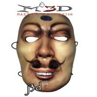 "MASKER 3D ""BONENG FULL FACE"" BY MO3D BISA DICUCI"