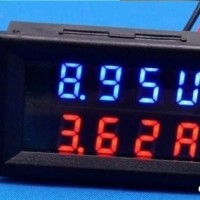 harga DC0-100V / 100A LED DC dual-display digital Voltmeter Amperemeter Tokopedia.com