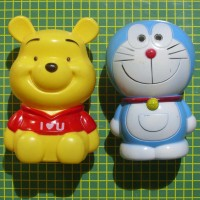 celengan winnie the pooh doraemon savings tabungan money bank save