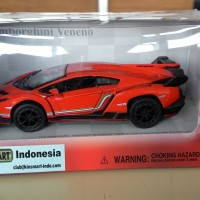 Diecast Lamborghini Veneno Orange