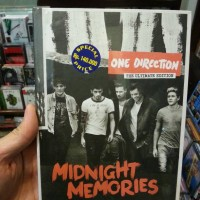 CD ONE DIRECTION - MIDNIGHT MEMORIES ULTIMATE COLLECTION