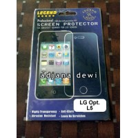 Anti Gores Glare Screen Guard Protector LG Optimus L5 E610 / E612